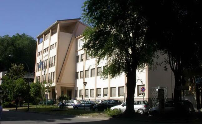 il municipio di ozieri (foto concessa dal comune)
