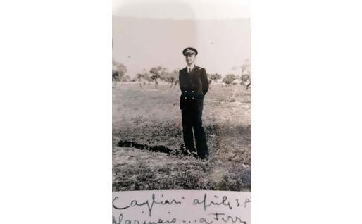 Danilo Coen a Cagliari, aprile 1938 (foto concessa)