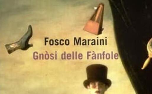 La copertina del libro Gnòsi delle Fànfole di Fosco Maraini