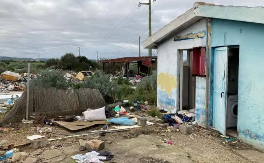 il campo rom (foto pala)