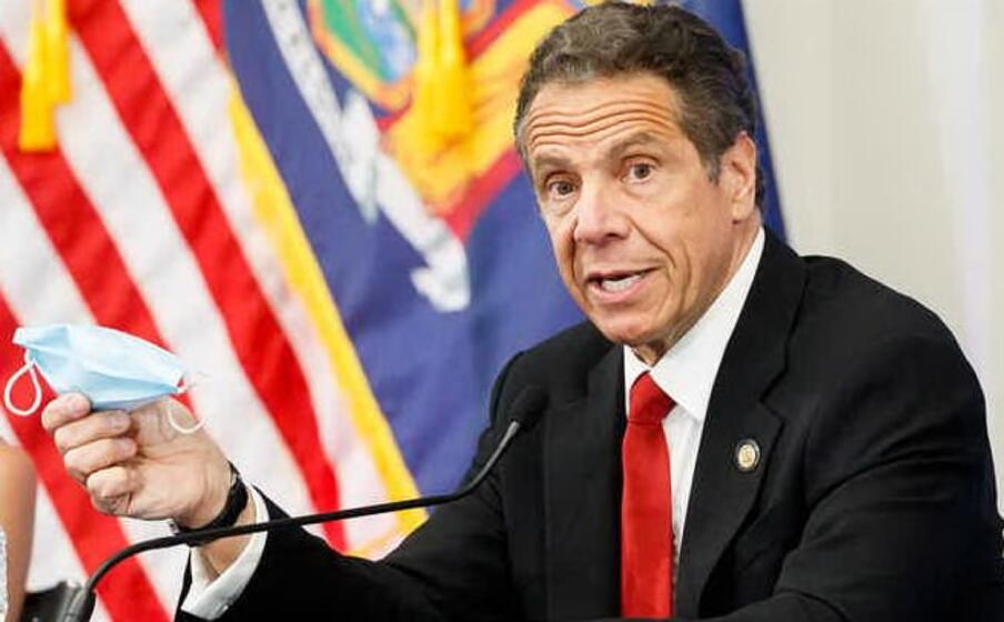 il governatore di new york andrew cuomo (foto ansa)