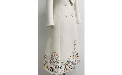 Il vestito ricamato (dal profilo Ig di Gabriela Hearst)