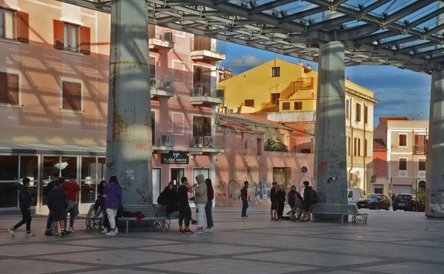 il centro storico di olbia (archivio l unione sarda)
