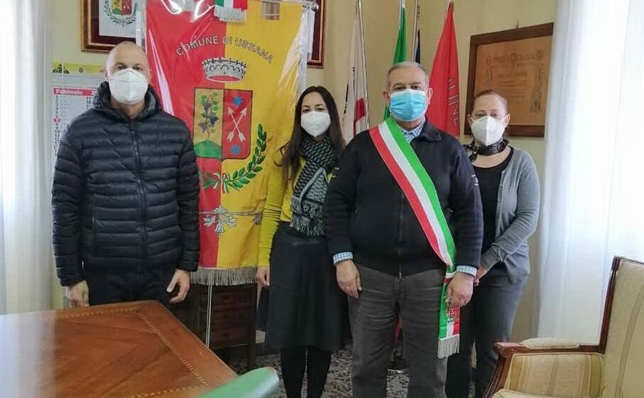 il sindaco di ussana con il suo staff (foto serreli)