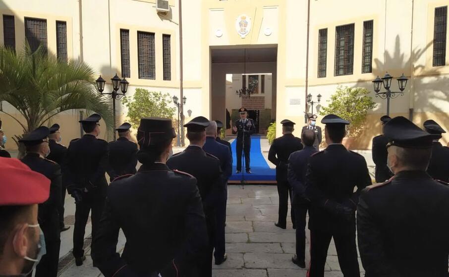 l incontro si tenuto nella sede della legione carabinieri sardegna