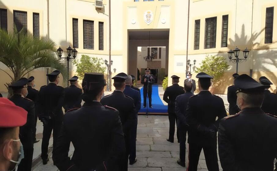 la visita di oggi a cagliari da parte del generale di corpo d armata dei carabinieri carmelo burgio