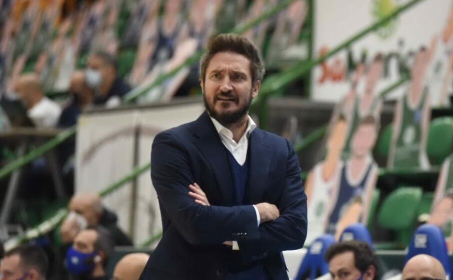 coach pozzecco (archivio l unione sarda)