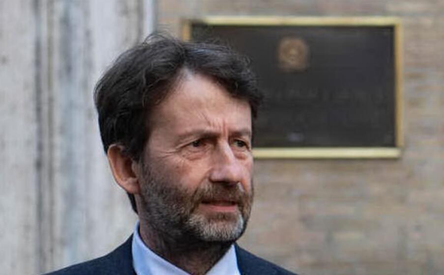 il ministro franceschini (foto ansa)