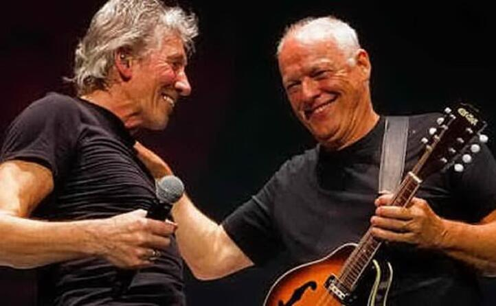 con roger waters (foto videolina)