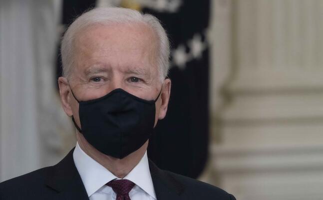 il presidente americano joe biden (ansa)