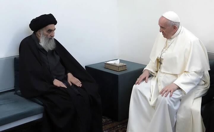 l incontro con l ayatollah al sistani