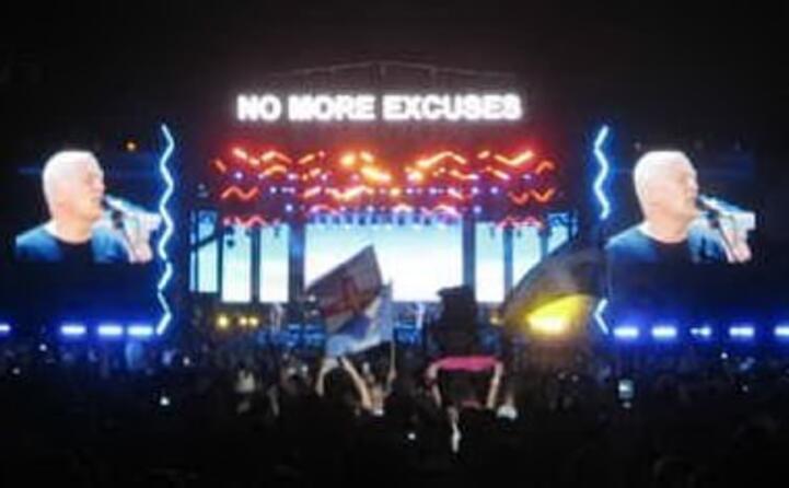 la reunione dei pink floyd nel 2005 per il live 8 (foto wikipedia)