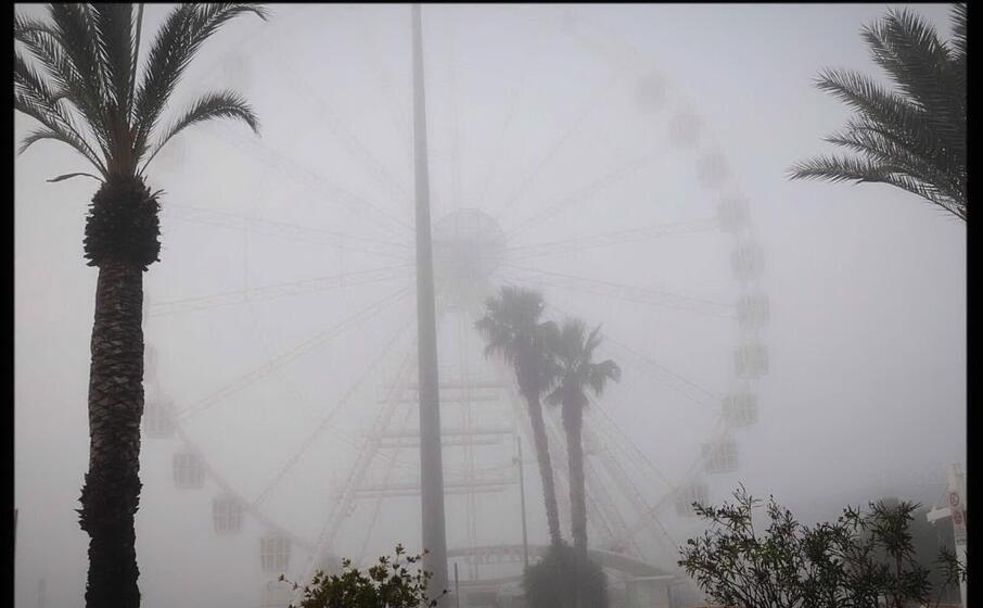 la ruota panoramica del porto (foto piras)