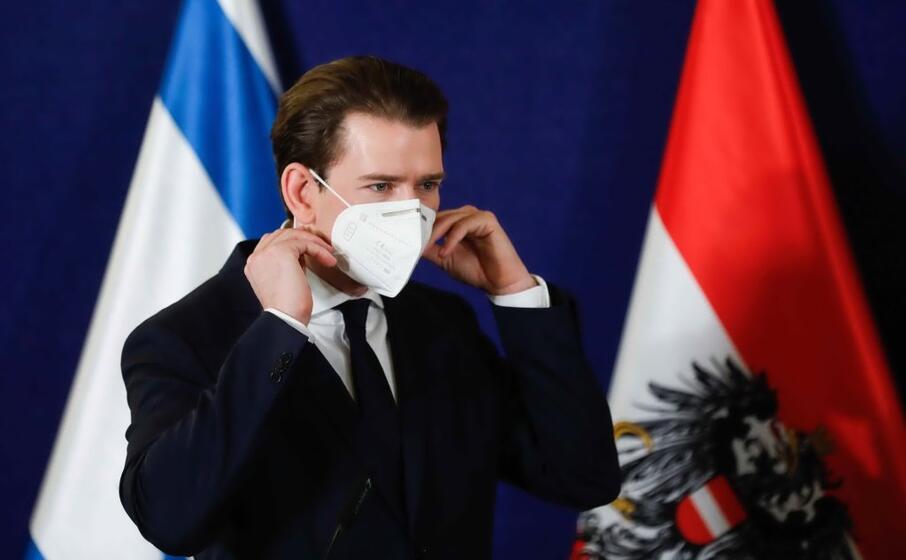 il cancelliere austriaco sebastian kurz (ansa fitoussi)
