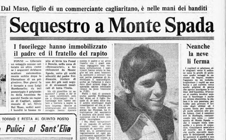 accaddeoggi 8 marzo 1981 viene sequestrato silvio dal maso
