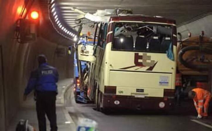 il tunnel dove avvenuta la tragedia