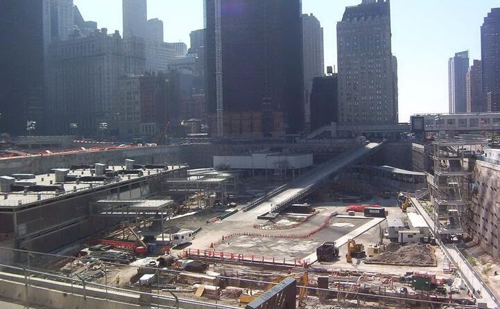 ground zero appare per la prima volta in un film nel suo la 25esima ora del 2002
