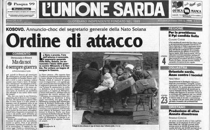 accaddeoggi 24 marzo 1999 la nato attacca la serbia