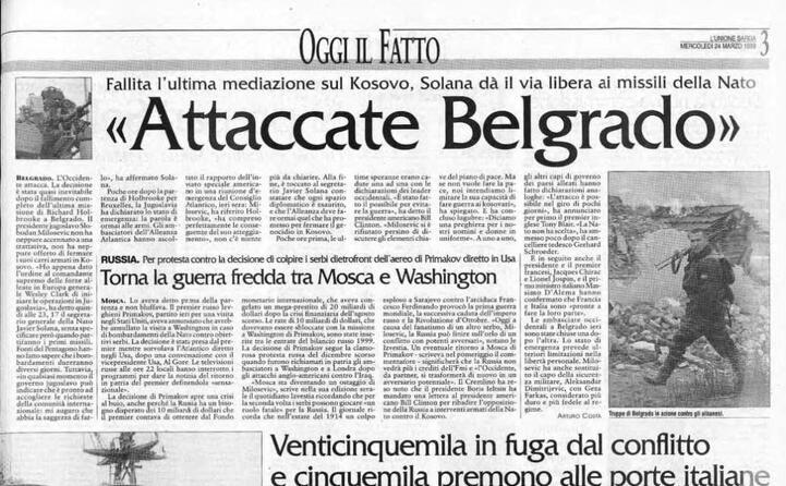le forze del presidente milosevic avevano invaso il kosovo
