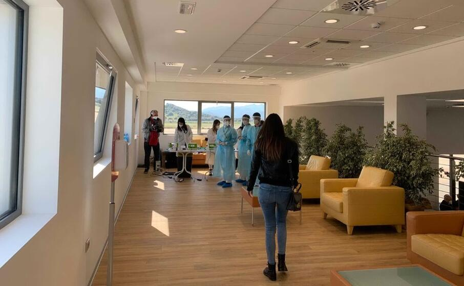 olbia inaugurato l health testing center (foto l unione sarda de roberto)