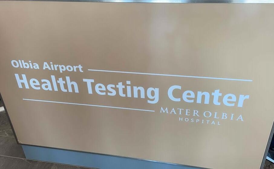 si tratta di un centro screening anti covid (foto l unione sarda deidda)