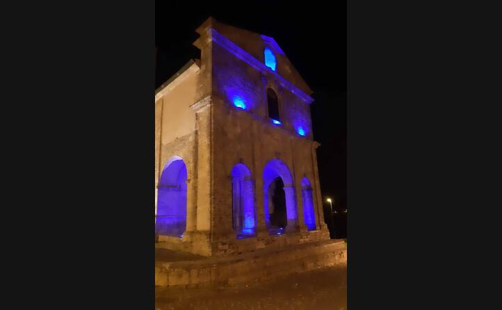 la chiesa del rosario a osilo