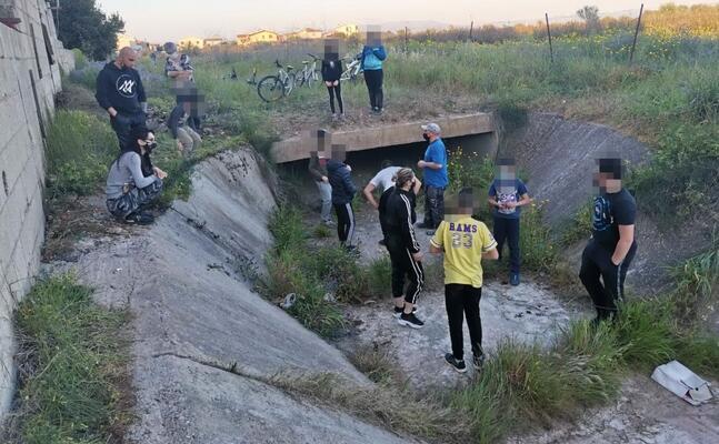 il luogo in cui sono stati ritrovati i resti (l unione sarda)