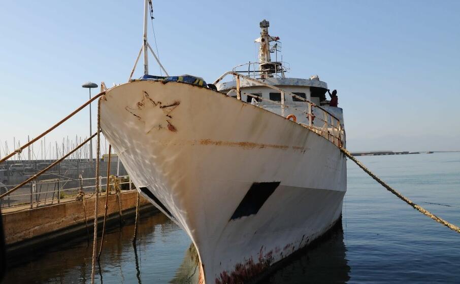 la nave cantiello oggi a su siccu (foto andrea piras)