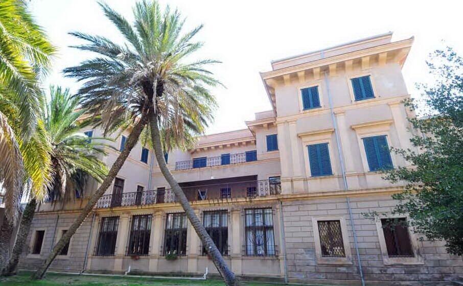 villa bellavista sede del parco geominerario (archivio unione sarda)