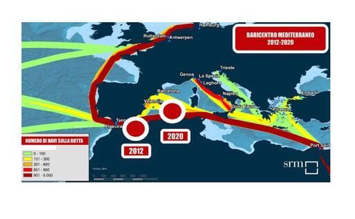 La mappa della Srm (L'Unione Sarda)