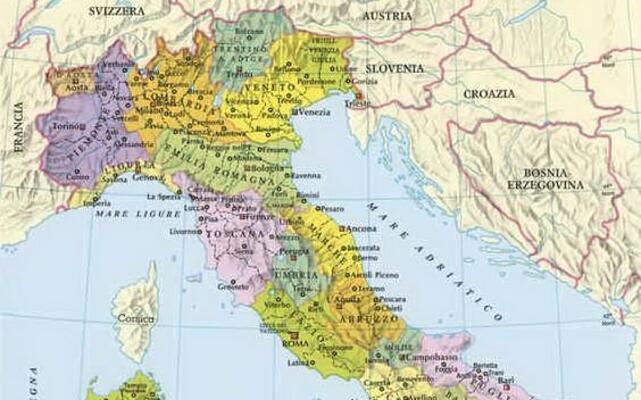 Cartina Stradale Nord Italia Da Stampare.Slovenia Carta Geografica