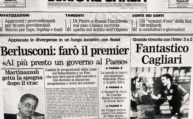 l unione sarda del 30 marzo 1994