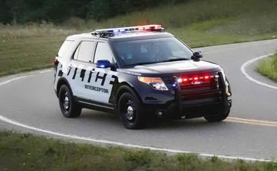 un auto della polizia (ansa)