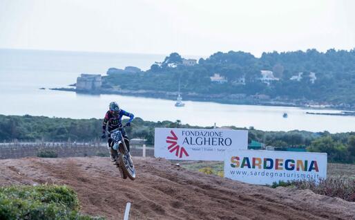 Glenn Coldenhoff, ad Alghero terzo nella Supercampione e primo nella MX1 (foto Chessa)