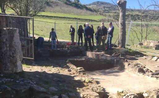 Gli scavi archeologici