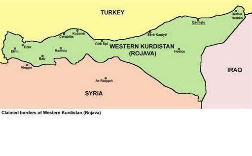 Il Rojava (Wikipedia)