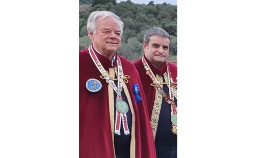 Lucio Depperu e Gian Giuseppe Cabras (foto Cabras)