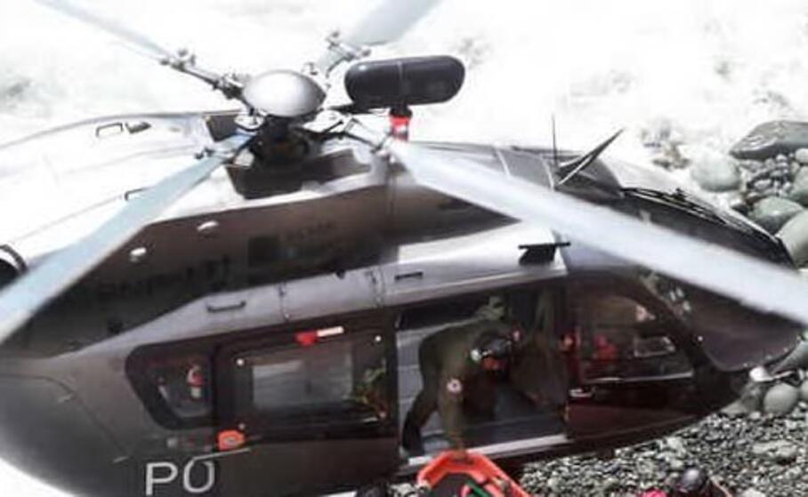 un elicottero (ansa)