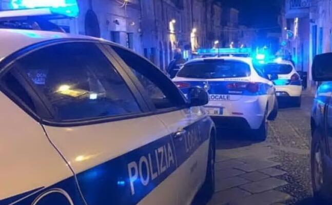 polizia locale a sassari (archivio l unione sarda)