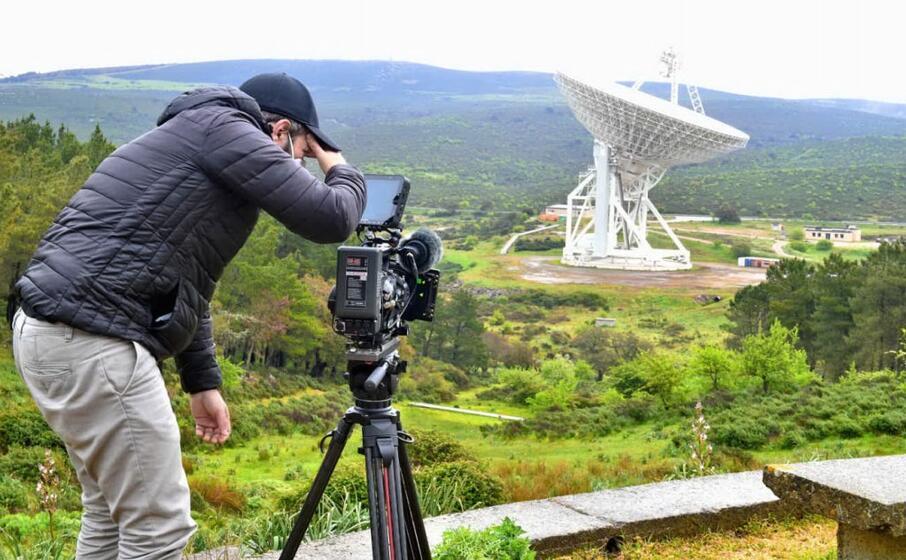un immagine dalle riprese del film (foto ufficio stampa)