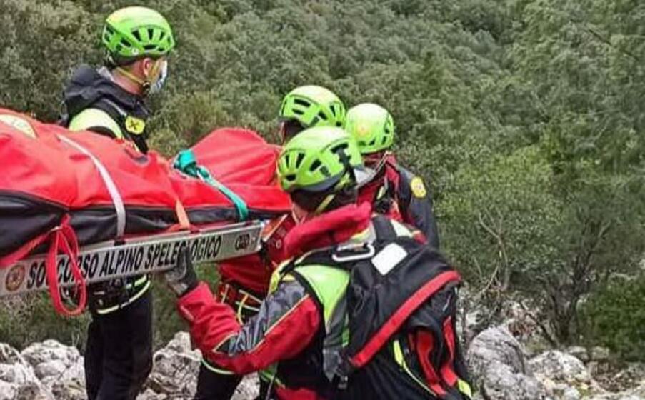 una missione di soccorso (foto soccorso alpino)