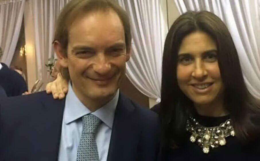 matteo cagnoni e la moglie giulia ballestri (foto da facebook)
