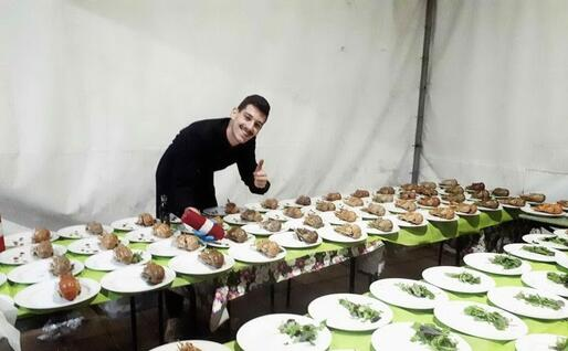 Lo chef Dario Piras (foto concessa)